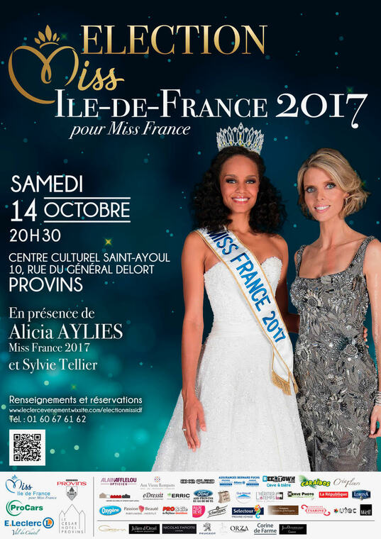 billetterie election miss ile de france 2017. Black Bedroom Furniture Sets. Home Design Ideas